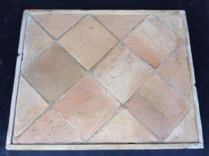 Pavimento in cotto 22 x 22 cm