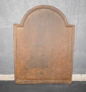 p19 - plaque en fonte simple, taille cm l 42 xh 56