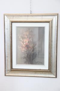Peinture à l'huile sur toile de Franco Antonini, datée de 1981, archives de l'artiste n 565 euros 600 traitables