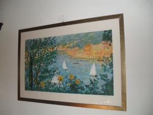 Sérigraphie Portofino Cascella
