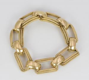 Bracelet en or 18 carats, années 40