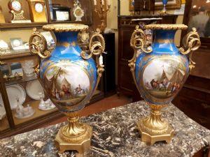 paire de vases en porcelaine de sevres