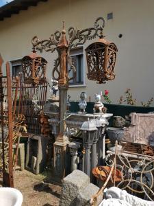 lampadaires en fonte