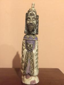 Sculpture en ivoire oriental