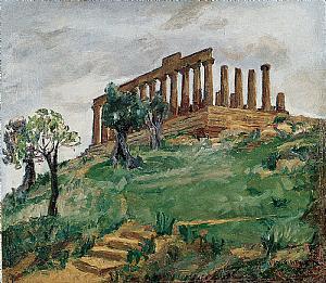 Agrigente, Vallée des Temples 1937