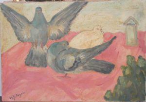Pigeons dans la nuit (1955)