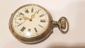 Ancient Great Clock / Onion Pocket Argent d'abord »900