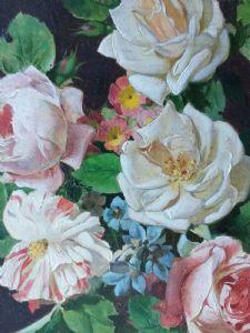 Vase de roses