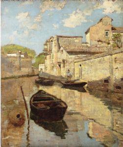 Guglielmo Ciardi - Canale alla Giudecca