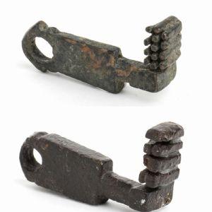Paire de clés romaines originales