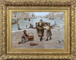 Venise, Antonio Ermolao Paoletti (1834 - 1912), signé
