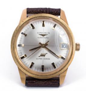 Montre-bracelet Longines Ultra-Chron en or 18 carats - automatique - 60