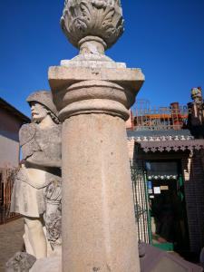 colonnes de pierre