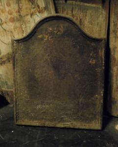 p033 - plaque en fonte simple, taille cm l 46 xh 60