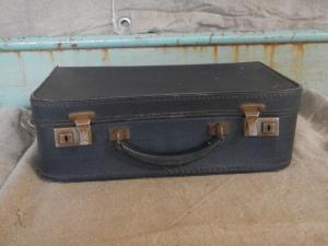 valise en carton des années 50