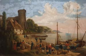 Peinture flamande signée Berth Pin