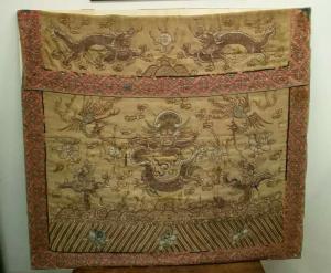 Ancien tissu chinois, ancien tissu chinois, art oriental, art chinois