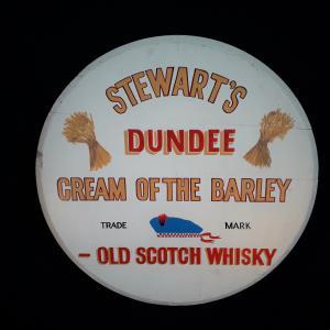 Signe de Whisky Pub Vintage