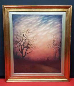 SARNELLI RUSSO ANTONIO huile sur toile peinte
