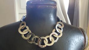 Bijoux fantaisie collier vintage