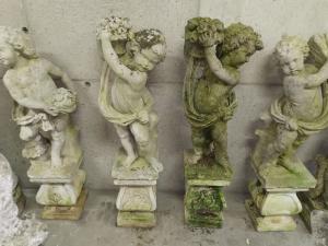 quatre saisons dans la pierre
