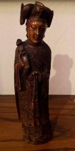 figurine en ivoire chinois