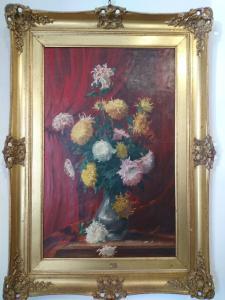 Vase avec des fleurs, Frank Villoughby Raymond