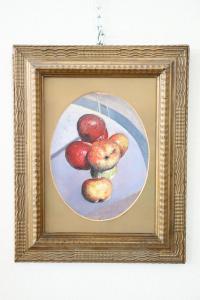 Peinture à l'huile sur bois signée par Valentino Ghiglia (1903-1960) artiste florentin euro 1500 traitable