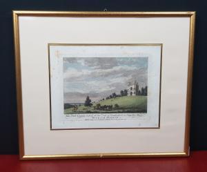 Forêt de Windsor PAUL SANDBY 1777 GRAVURE À L'EAU