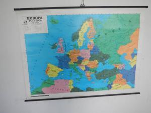 catrta geografica  politica anni 70