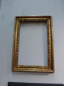 Cadre doré demi '700 55x33 cm