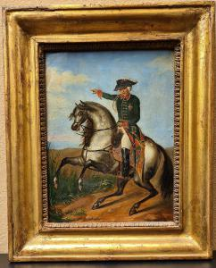 Portrait à cheval de Frédéric-Guillaume III de Prusse
