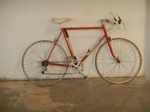 vélos blancs des années 80