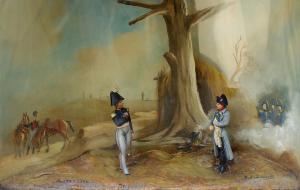 Diorama: Napoléon à Austerlitz, XIXe siècle