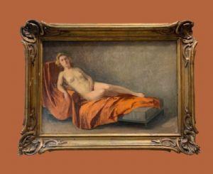 Charles Manciet (1874-1963) - Nu allongé