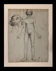 Fernand Duroze (1876-1961) - Étude d'un prophète