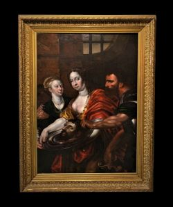Ecole vénitienne (milieu du XVIIe siècle) - Salomé Présentée avec la Tête du Baptiste