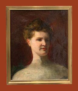 Scuola francese (1870) - Studio di donna
