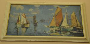 Bateaux peints