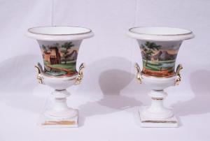 Paire de vases Empire, France, XIXe siècle