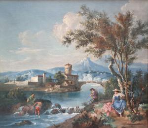 Zuccarelli Francesco - Paysage avec personnages