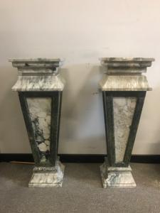 Bases en marbre 34x34x103h