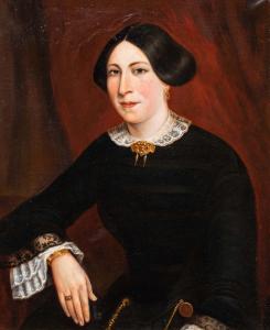 Portrait de dame, XIXe siècle