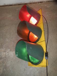 feu de circulation routière des années 80