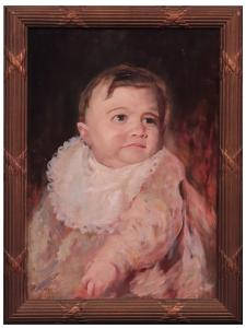 Giuseppe Mascarini (1877-1954) - Portrait d'un enfant
