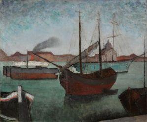 Venise, bateaux (1928)