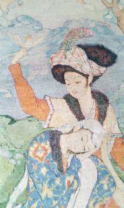 Tapis Tabriz 60 Rajes, Perse, 201 x 125 cm.
