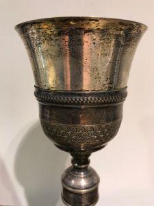 vintage argent ancienne Goblet 1650 italienne