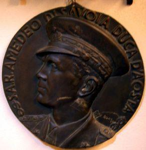 Médaille de bronze « duc de Savoie » en 1940