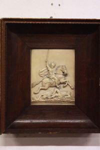 Quadro bas-relief encadrée Vercingétorix